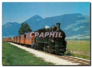 Modern Postcard Zillertal railway Steam locomotive