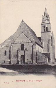 L'Eglise, Restigne (Indre et Loire), France, 1900-1910s