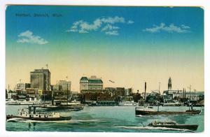 Harbor, Detroit, Michigan unused Divided Back PPC
