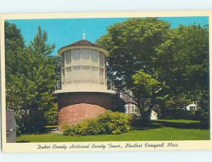 Unused Pre-1980 BUILDING SCENE Martha'S Vineyard Massachusetts MA H4338