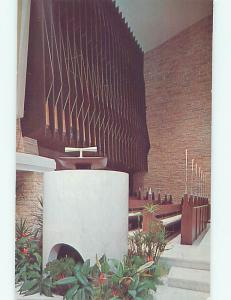 Unused Pre-1980 CHURCH SCENE Fort Lauderdale Florida FL hs7167