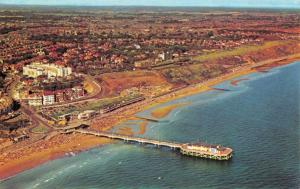 Aerial View Postcard, The Pier and Beach at Boscombe, Dorset 99U