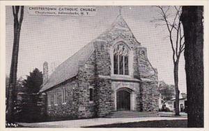 Chestertown Catholic Church Chestertown Adirondocks New York Dexter Press