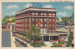 BRISTOL , Virginia , 1930-40s ; Hotel Bristol