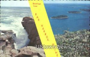 Bar Harbor, ME, Post Card     ;     Bar Harbor, Maine Bar Harbor ME Unused
