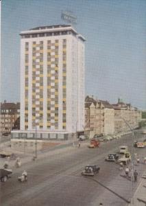 Andersens Boulevard and Hotel Europa, COPENHAGUEN, Denmark, 50-70's