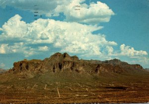 Arizona Mesa Superstition Mountains 1973