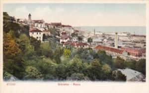 Gibraltar Panorama Of Rosia