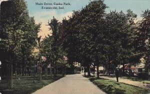 Indiana Evansville Main Drive Cooks Park