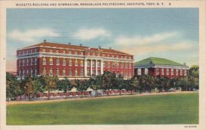 New York Troy Ricketts Building and Gymnasium Rensselaer Polytechnic Institut...
