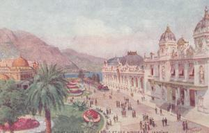 MONTE-CARLO , Le Casino et les Nouveaux Jardins , 00-10s ; TUCK 33