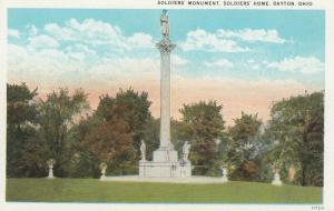DAYTON , Ohio , 1910-30s ; Soldier's Monument