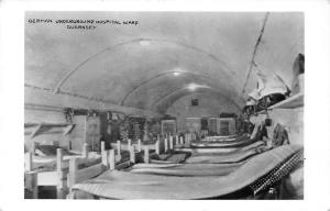 C.I. Guernsey, German Underground Hospital Ward, Real Photo