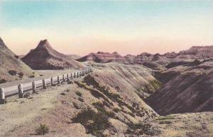 South Dakota Wall Chief Big Foot Pass Badlands National Monument Albertype