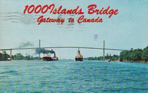 Canada Ontario Thousand Island 1000 Islands  Bridge Gateway To Canada 1976