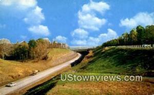 Ohio Turnpike, Ohio Post Card,    :     Ohio Turnpike, OH Ohio Turnpike OH Un...