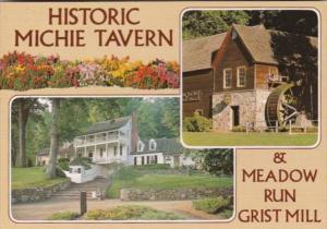 Virginia Charlottesville Michie Tavern & Meadow Run Grist Mill