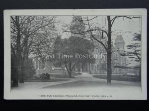 London WOOD GREEN Home & Colonial Training College c1916 Postcard