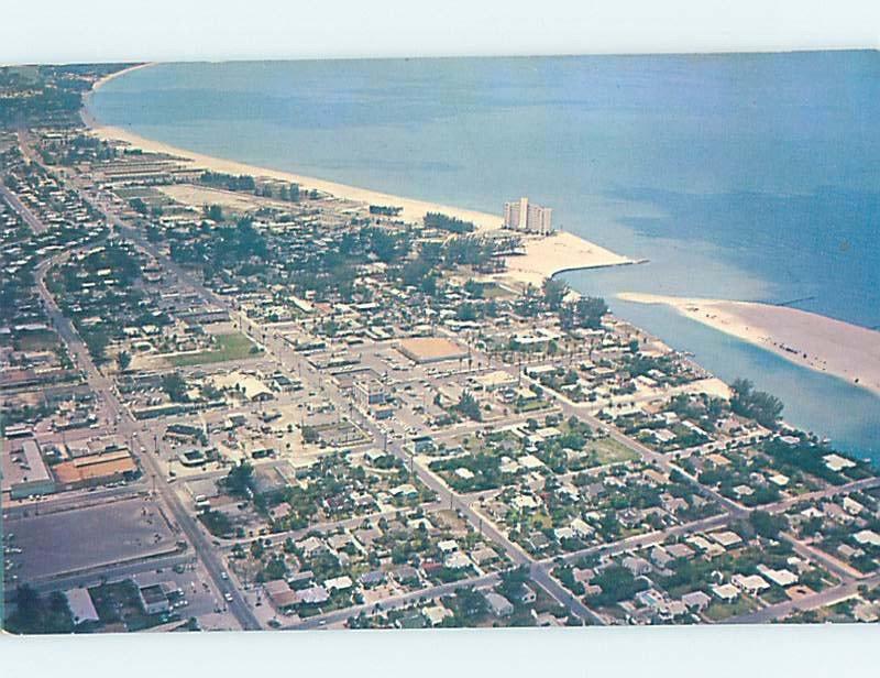 Pre-1980 AERIAL VIEW St. Petersburg Beach Florida FL AD0213