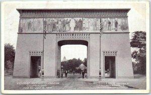 1919 Columbus, Ohio Postcard METHODIST CENTENARY CELEBRATION Entrance Arch