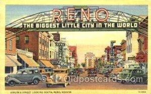 Virginia Street, Reno Nevada Gambling Unused
