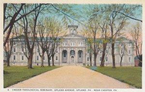 UPLAND, Pennsylvania, 1910-20s; Crozer Theological Seminary, Upland Avenue