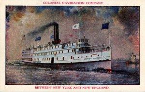 Colonial Navigation Co. - SS Lexington