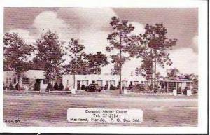 FL Maitland Coronet Motor Court 1952
