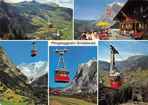 Switzerland Pfingsteggbahn Grindelwald Cable Car Terrace Panorama