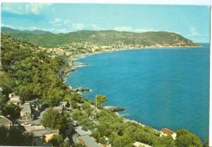 Italy, Marina di Andora, Riviera dei Fiori, Panorama, 1982 used Postcard