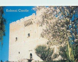 Kolossi Castle postcard Cyprus