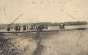 Military - Senlis 2 Hussards Sauts d´obstacles 03.38
