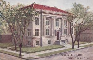 Illinois Rock Island Public Library 1912