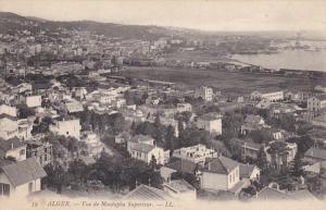 ALGER, Algeria, 1900-1910's; Vue De Mustapha Superieur