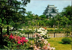 SOUTHERN SECTION IN NINOMARU GARDEN OF NAGOYA CASTLE Japan Vvintage postcard