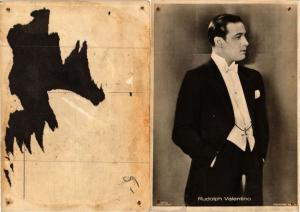 CPA Rudolph Valentino Ross Edition FILM STAR (594280)