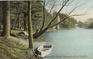WATERVILLE , Maine , 1900-10s ; Messalonskee Stream