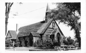 West Harwich Massachusetts Holy Trinity Church Real Photo Antique PC K10919