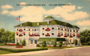 Wisconsin Neenah The Valley Inn On Lake Winnebago 1945