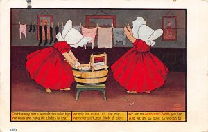 Sun Bonnets Post Card Sunbonnet Twins 1907