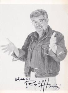 Rolf Harris Vintage Hand Signed Photo