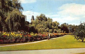 Harrogate The Dahlia Walk Valley Gardens 1969 Postcard