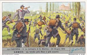 Liebig S1688 Infantry No 2 La battaglia di San Martino 24 Giugno 1859