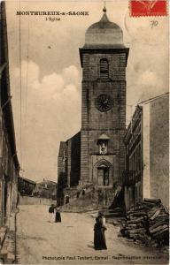CPA MONTHUREUX-sur-SAONE L'Église (401038)