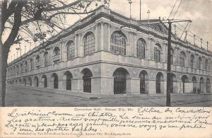 Mo. Kansas City, Convention Hall 1906