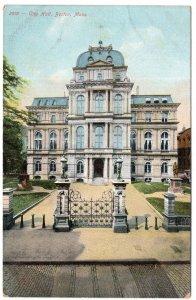 Boston, Mass, City Hall