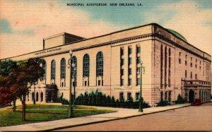 Louisiana New Orleans Municipal Auditorium