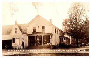 Vermont  Plymouth , Country Store,  Post Office,  Birth Place Pres. Cooledge RPC