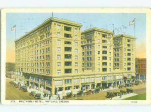W-Border SHOPS ON STREET & MULTNOMAH HOTEL Portland Oregon OR HQ4547