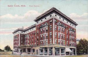 Michigan Battle Creek Post Tavern 1910
